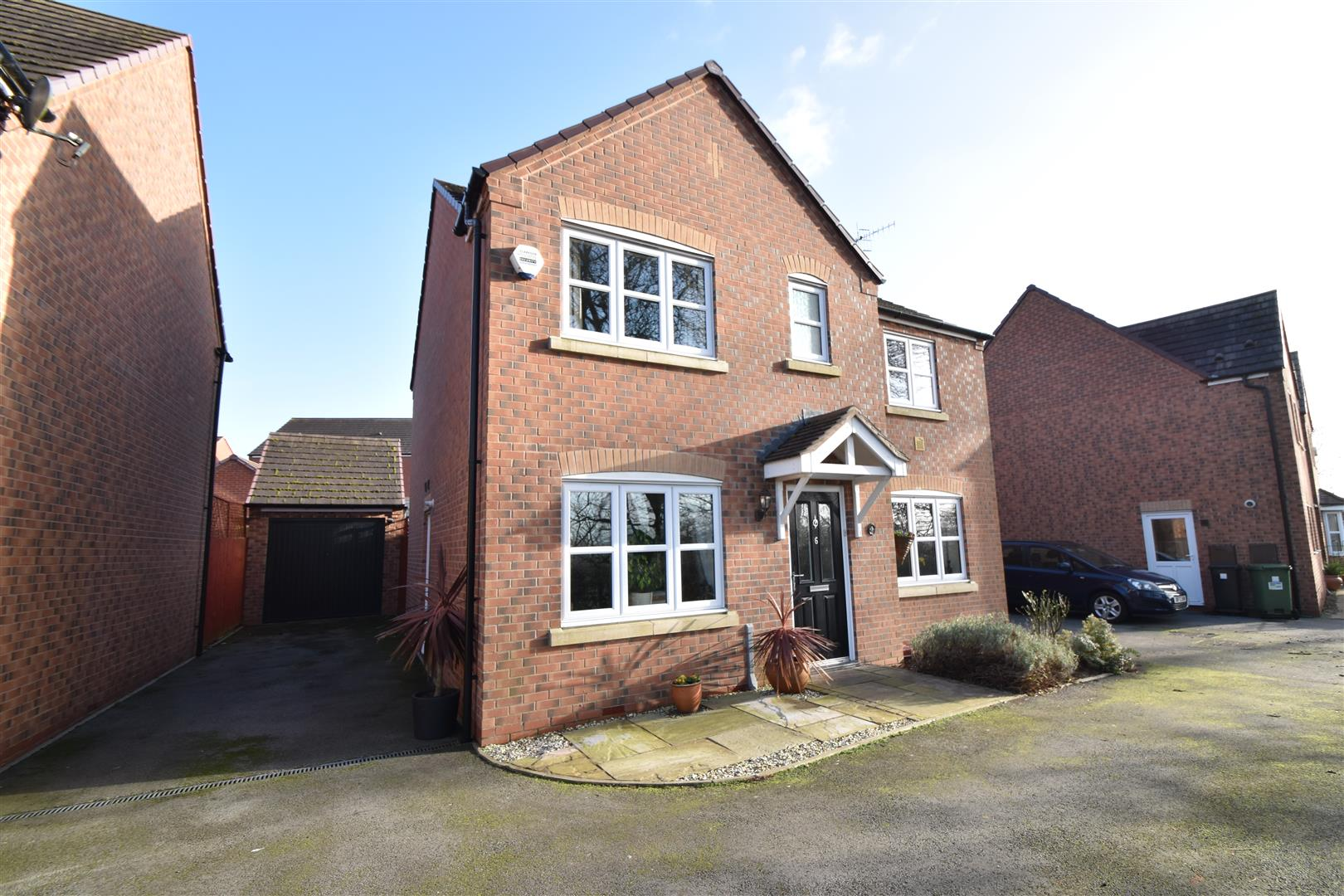 4 Bedrooms Detached House for sale in Tench Close, Worcester